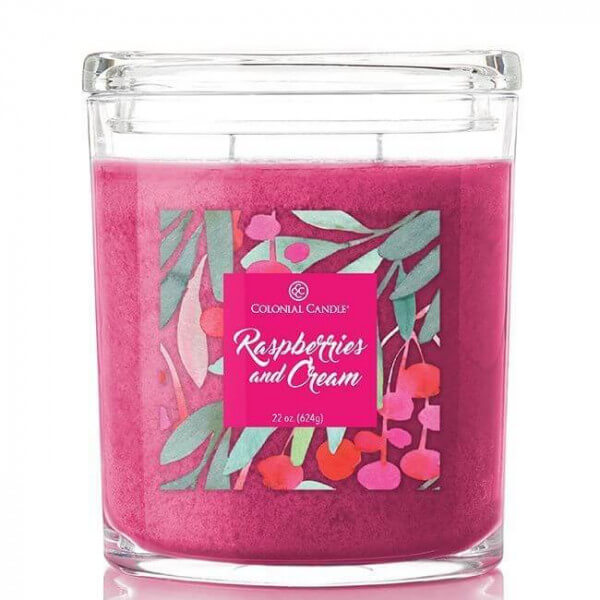 Colonial Candle - Raspberries And Cream 623g