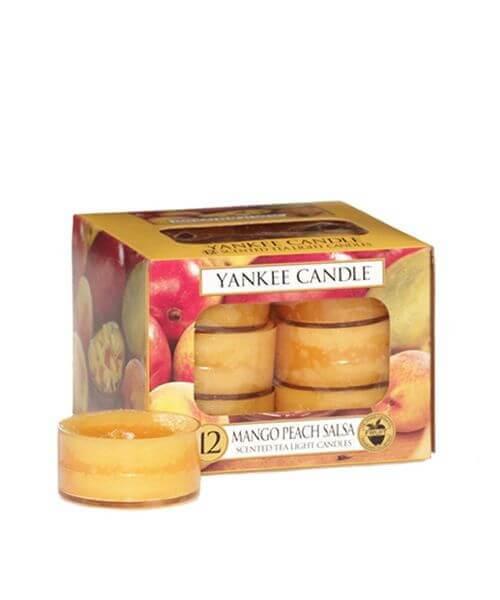 Yankee Candle Teelichte Mango Peach Salsa