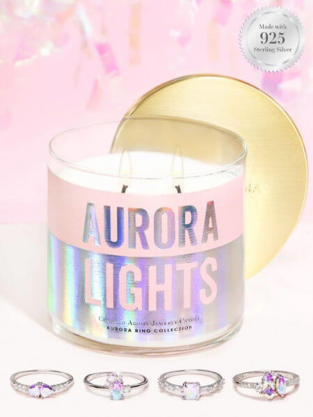 Aurora Lights (Ring) Candle