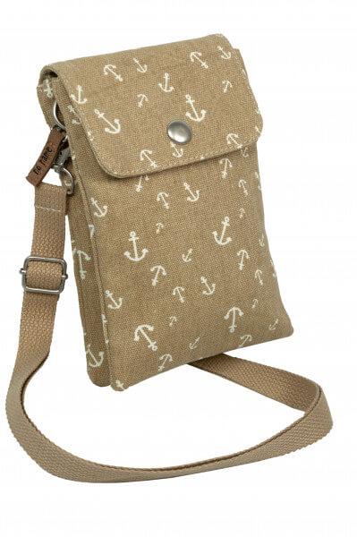 Mini Crossbag Anker sand 710