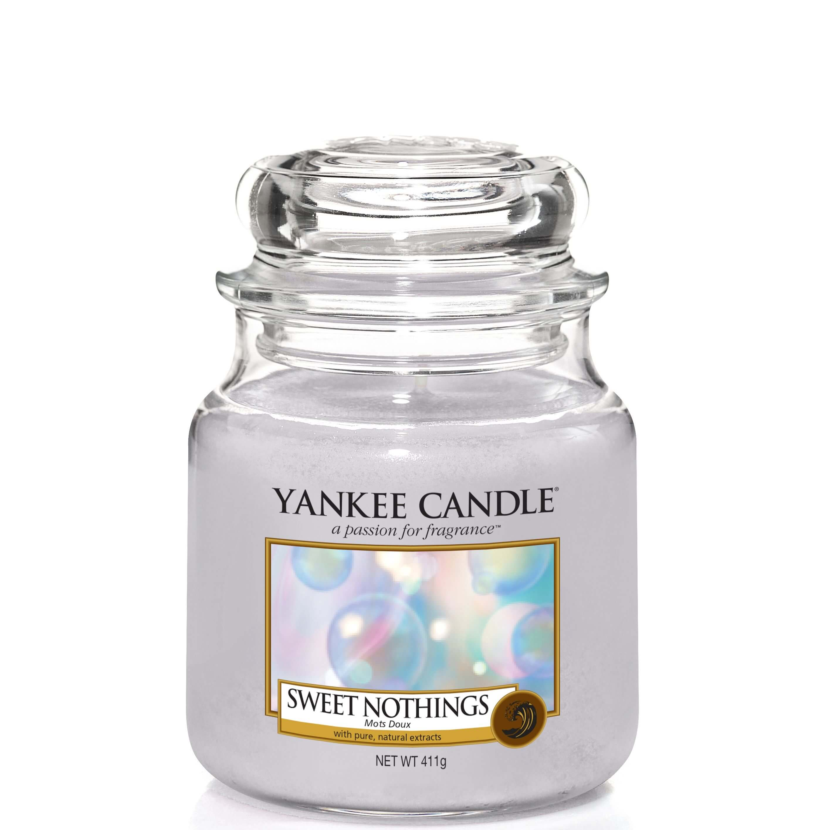 sweet nothings 411g von yankee candle online bestellen candle dream. Black Bedroom Furniture Sets. Home Design Ideas