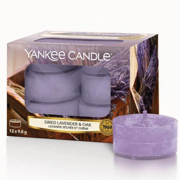 Dried Lavender & Oak 12 Stck von Yankee Candle