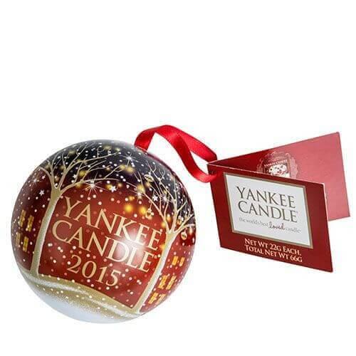 Yankee Candle - Christmas Sammler Weihnachtskugel 2015