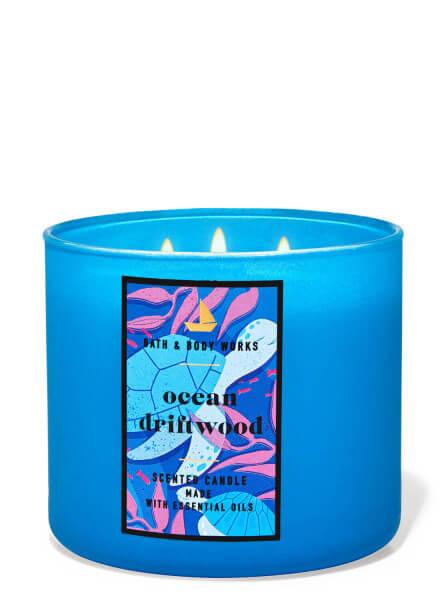 3-Docht Kerze - Ocean Driftwood - 411g