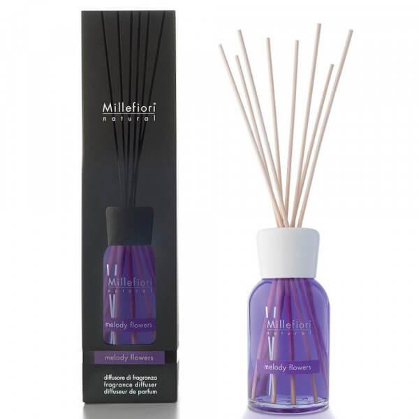 Melody Flowers - Natural Stick Diffuser 100ml - Millefiori