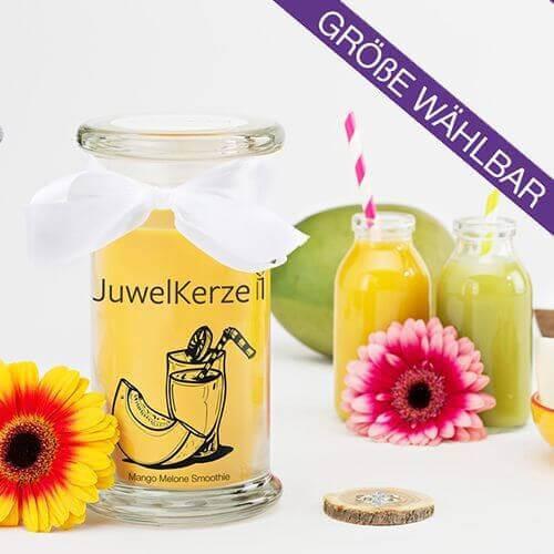 JuwelKerze Mango Melone Smoothie Ring 380g