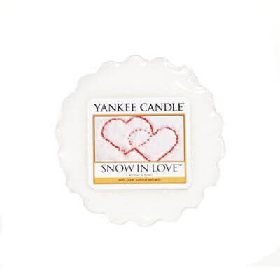 Yankee Candle Duft-Tart Snow In Love