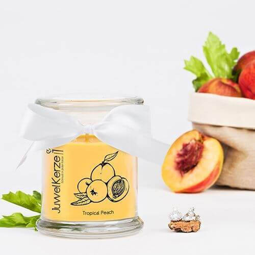 JuwelKerze Tropical Peach (Ohrringe) 380g