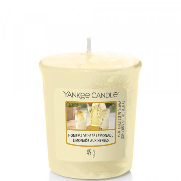 Homemade Herb Lemonade 49g Votivkerze von Yankee Candle