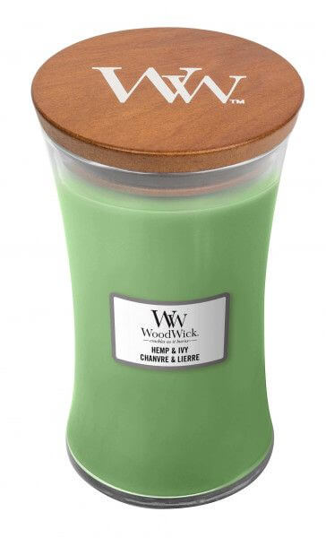 WoodWick Hemp And Ivy 610g