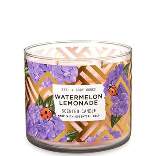 bath body works watermelon lemonade 411g candle dream. Black Bedroom Furniture Sets. Home Design Ideas