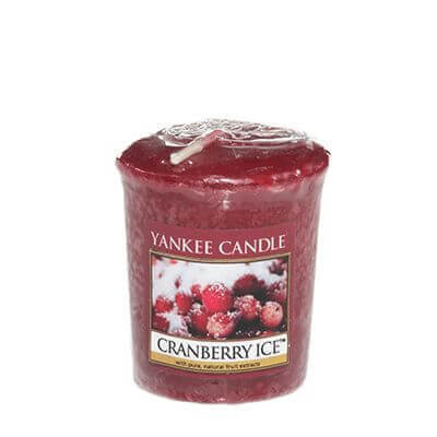 Yankee Candle Sampler - Votivkerze Cranberry Ice
