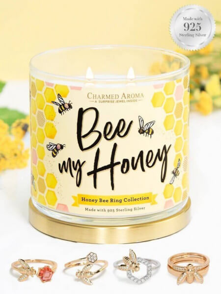 Bee My Honey (Ring) Candle