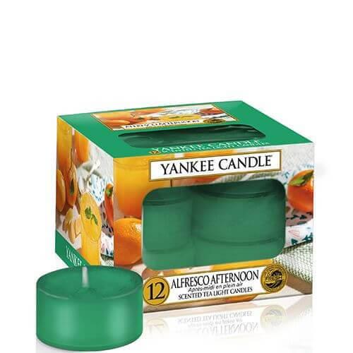 Alfresco Afternoon 12 St. Teelichter Kerzen von Yankee Candle