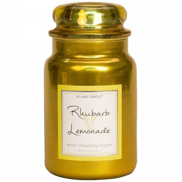 Village Candle Rhubarb Lemonade 626g