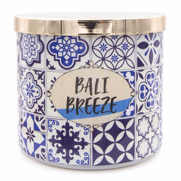 Duftkerze Tile Bali Brz & White Tea & Citrus - 411g