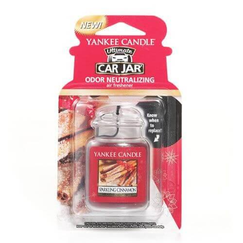 Yankee Candle Car Jar Ultimate Sparkling Cinnamon