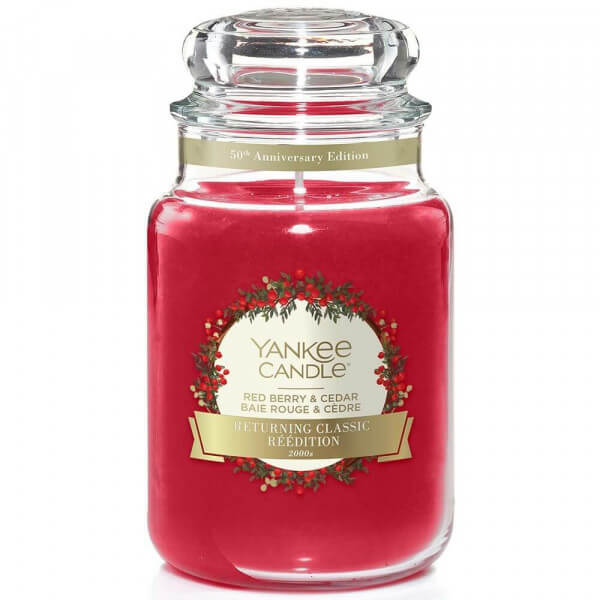 Red Berry And Cedar 623g von Yankee Candle
