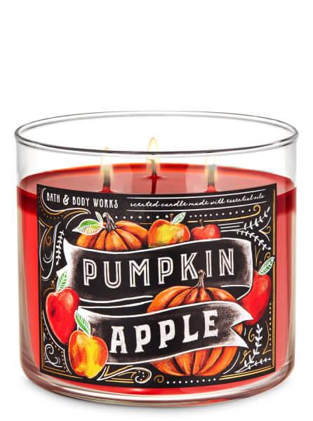 3-Docht Kerze - Pumpkin Apple - 411g