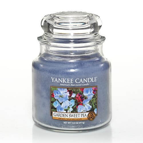garden sweet pea 411g von yankee candle online bestellen candle dream. Black Bedroom Furniture Sets. Home Design Ideas