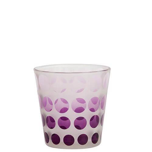 Yankee Candle - Purple Circles Votivkerzenhalter