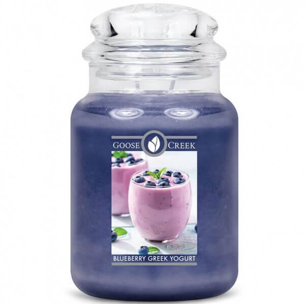 Goose Creek Candle Blueberry Greek Yogurt 680g Jar