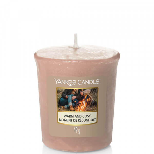 Warm and Cozy 49g Votivkerze von Yankee Candle