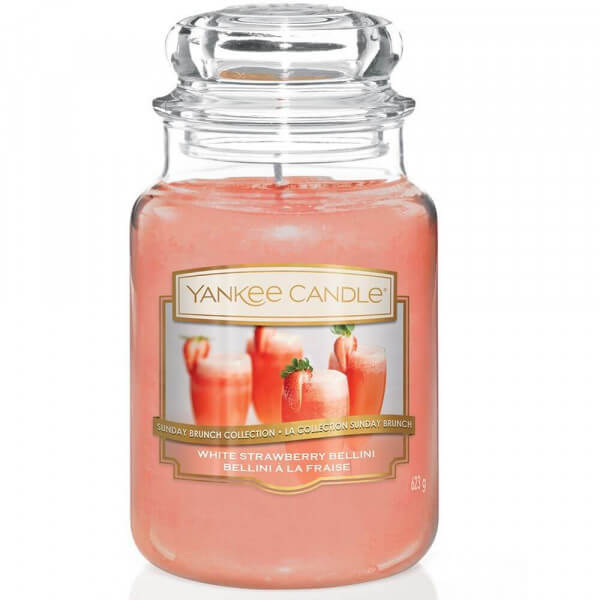 White Strawberry Bellini 623g von Yankee Candle