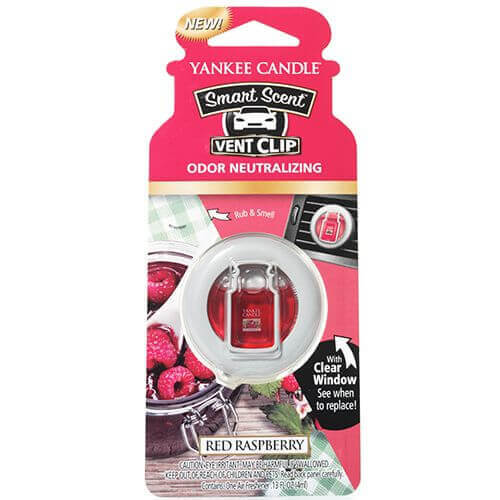 Yankee Candle - Smart Scent Vent Clip Autoduft Red Raspberry