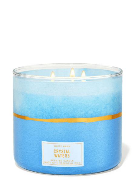 3-Docht Kerze - Crystal Waters - 411g