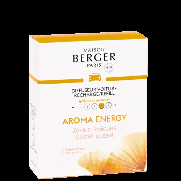 Aroma Energy Set 2 Stück Nachfüller Autoduft