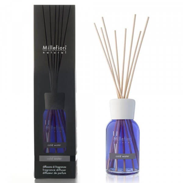 Cold Water - Natural Stick Diffuser 100ml - Millefiori