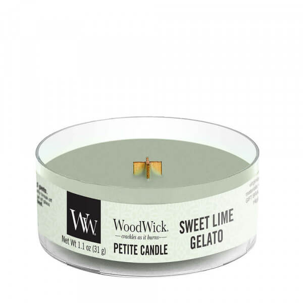 Sweet Lime Gelato Petite Candle 31g von Woodwick