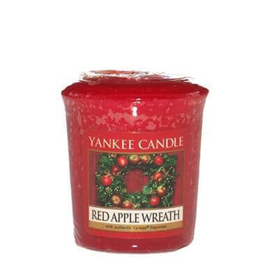 Yankee Candle Sampler - Votivkerze Red Apple Wreath