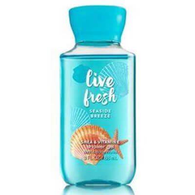 Bath & Body Works - Live Fresh - Seaside Breeze Duschgel