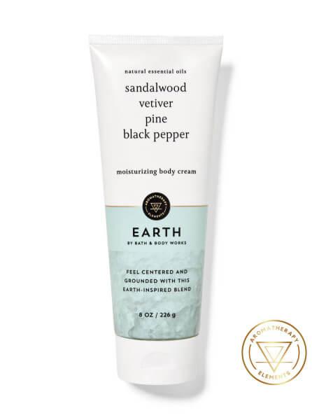Body Cream - Aromatherapy - EARTH - 226g