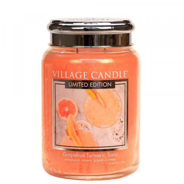 Grapefruit Turmeric Tonic 626g von Village Candle