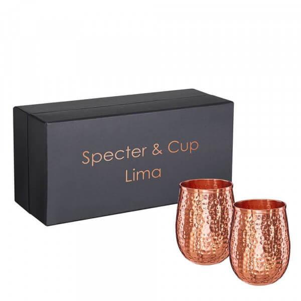 Specter & Cup - Lima 2 Kupferbecher im Set