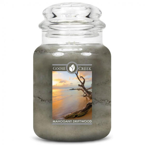 Goose Creek Candle Mahogany Driftwood 680g Jar