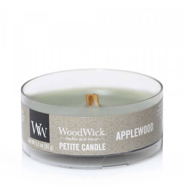 Applewood Petite Candle 31g von Woodwick