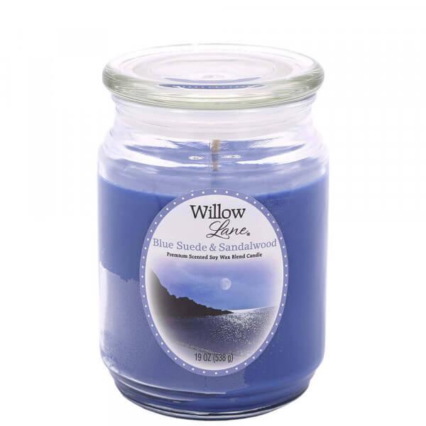 Blue Suede & Sandalwood 538g von Candle-Lite
