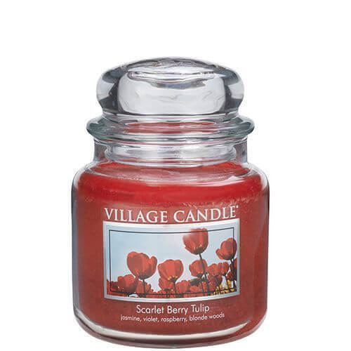 Village Candle Scarlet Berry Tulip 453g
