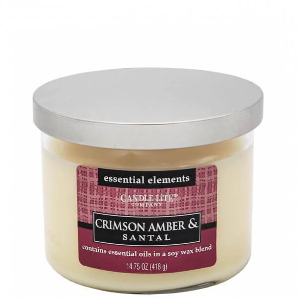 Crimson Amber & Santal 418g von Candle-Lite