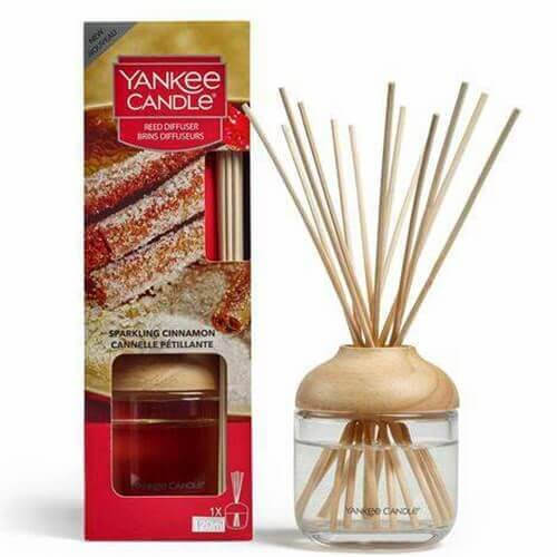 New Reed Diffuser Sparkling Cinnamon von Yankee Candle