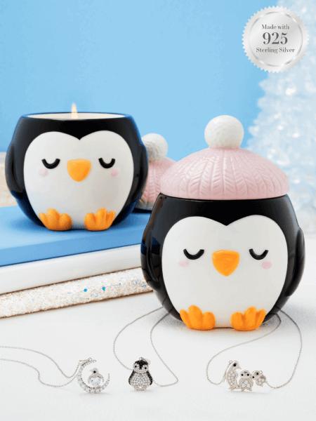 Penguin Kerze (Halskette)