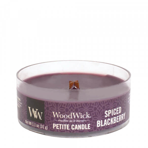 Spiced Blackberry Petite Candle 31g von Woodwick