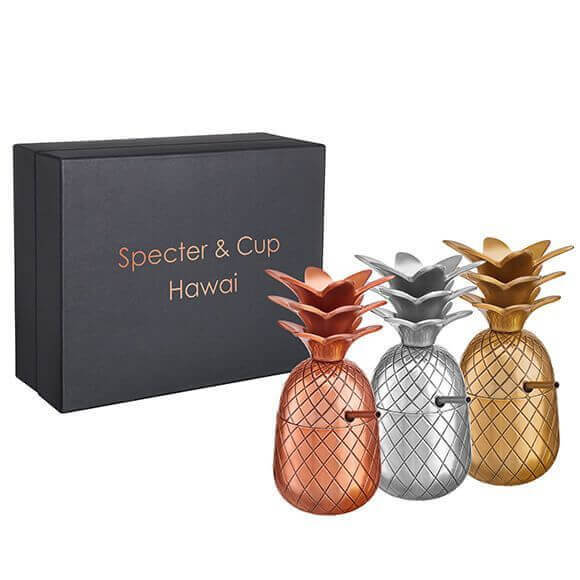 Specter & Cup - Hawai Mood Ananas 3x300ml Set mit Box