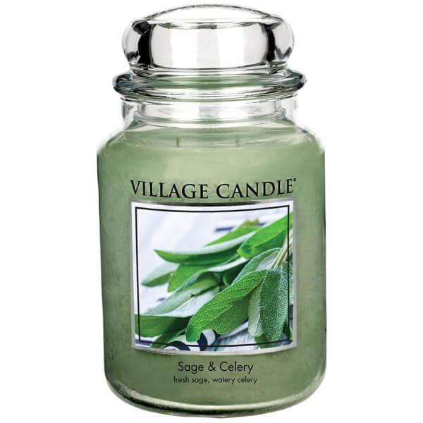 Village Candle Sage & Celery 645g