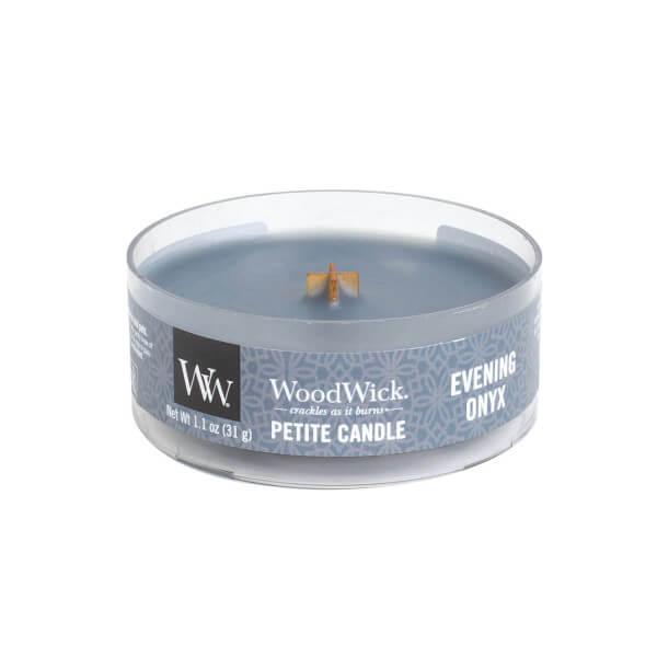 Evening Onyx Petite Candle 31g von Woodwick