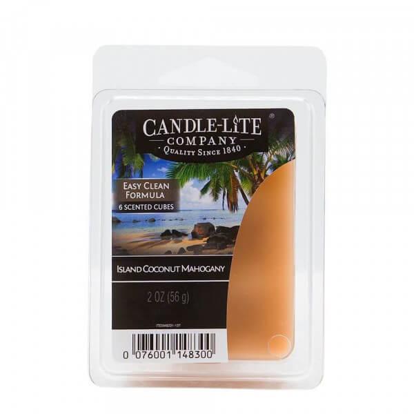 Island Coconut Mahogany 56g von Candle-Lite